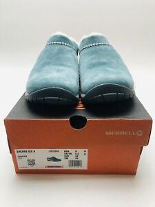 Merrell Women's Encore Ice 4 Suede Lined Slip On Slide Shoes Trooper Size 9 M