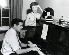 "petula clark and joe mr piano henderson 10"" x 8"" Photograph no 20"