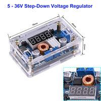 2 in 1 Step-Down Constant Current/Voltage 5-36V 5A Buck Regulator LED Display