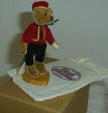 Bellhop Ganz Cottage Collectibles 3.75in miniature red vest teddy bear CC7012