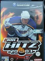 NHL Hitz 2003 Nintendo Gamecube GBC Video Game UK Release