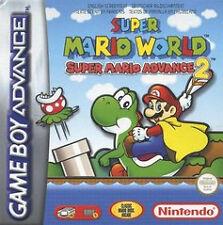 Super Mario World - Super Mario Advance 2 (Nintendo Game Boy Advance, 2002)BOXED