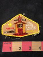 RARE VINTAGE BOY SCOUTS 1960 Galena Illinois Patch BSA U S Grant Pilgrimage  S57