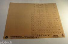 Microfich Catalogo di Ricambi BMW R 100 RS / 87 - R 100 RT / 88 Stand 04/1993