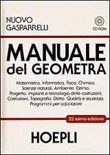 Manuale del geometra. Con CD-ROM di Luigi Gasparelli HOEPLI