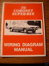 Repair Manuals Literature For 1970 Dodge Coronet For Sale Ebay