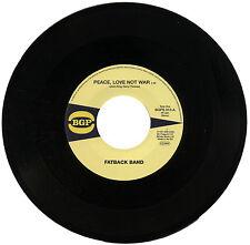 "FATBACK BAND  ""PEACE, LOVE NOT WAR""    70's FUNK"
