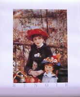 Two Sisters On Terrace-Renoir-Licensed POSTER-70cm x 50cm-Brand New