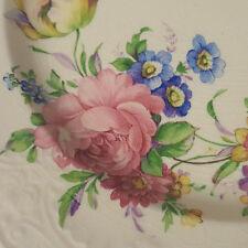 Vintage Floral Plate Papoco China Dinnerware