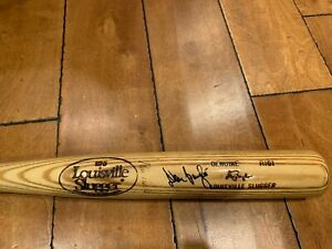 1983 Don Baylor SIGNED NEW YORK YANKEES LOUISVILLE SLUGGER GAME USED BAT 35.5""