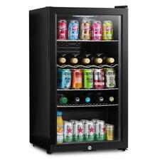 Subcold Super 85 LED Black   Refurbished Grade A   Beer & Wine Fridge   3-18 °C