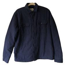 Neues AngebotMaison cinqcent Herren Größe Medium M Marineblau Jacke Knopfleiste Langarm Shirt