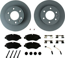 Disc Brake Pad and Rotor Kit-Zimmermann Front WD Express 408 33001 398