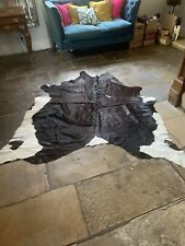 Cow hide rug X Large Great Condition, Hardly used