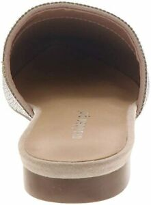 Madden Girl Womens Tania Suede Pointed Toe Slide Flats