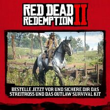 Red Dead Redemption 2 streitross & Outlaw Survival Kit DLC Code playstation 4 ps4