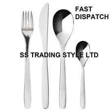 16 Piece Stainless Steel Cutlery Set BY IKEA MOPSIG