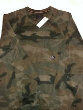 Men's Abercrombie & Fitch Hoodie Size XL Camo Sweater