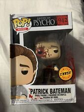 Funko Pop! American Psycho Patrick Bateman Chase Figure 942 Damaged Box