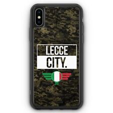 Lecce City Camouflage Italien iPhone XS Max SILIKON Hülle Cover Italienisch I...