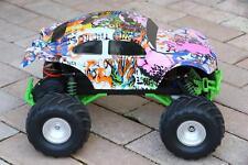 Custom Buggy Body Graffiti Pig for Traxxas Skully Grave Digger 1/10 Truck Car