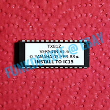 Yamaha TX81Z version OS 1.6 EPROM Firmware Upgrade KIT / ROM Update Chip