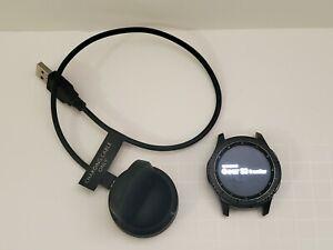 Samsung - Gear S3 Frontier Smartwatch 46mm, Dark Gray SM-R760NDAAXAR (Bluetooth)