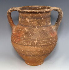 RARE CYPRIOT IRON AGE TERRACOTTA AMPHORA (M397)