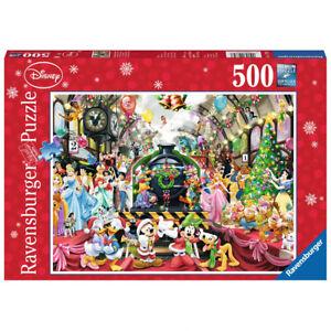 NEW! Ravensburger Disney Christmas Train 500pc Puzzle