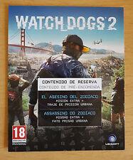 DLC PS4 XBOXONE PC Watch Dogs 2 - EL ASESINO DEL ZODIACO RESERVA - PREORDER