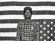 "21 ASAP ROCKY - American Rapper Hot Music Star 32""x24"" Poster"