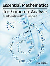 USED (GD) Essential Mathematics for Economic Analysis (3rd Edition) by Knut Syds
