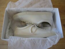 New Zespa Men's Zsp4 Off White Premium Leather Sneakers