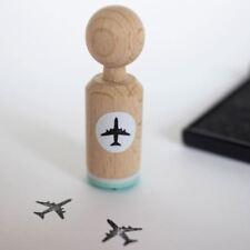 Avión-muy Mini Sello De Goma-Scrapbooking Artesanía con temática de viaje