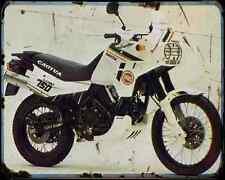 CAGIVA ELEFANT 750 89 A4 Metal Sign moto antigua añejada De