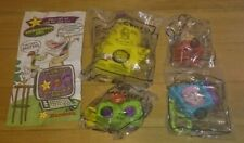 4 Cow and Chicken Cartoon Network Hardee's / Carl's Jr. Toys