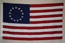 5x8 Embroidered Sewn Betsy Ross 600D Nylon Flag 5'x8' Heavy Duty Fabric