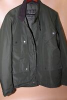 #134 Barbour B.International Tyne Waterproof Jacket Size M  retail $349