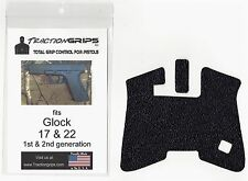 Tractiongrips rubber grip tape decal for Generation 2 Glock 17, 22 pistol grips