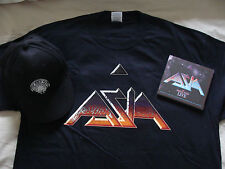 Bundle: Asia : Omega Tour Live London 2CDs, T Shirt (XL) & Baseball Cap