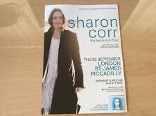 More details for the corrs - sharon corr - 2014 uk only 'the same sun' tour flyer/handbill bin