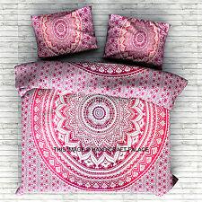 King Quilt Cover Bohemian Bedding Blanket Boho Mandala Indian Duvet Doona Cover