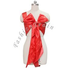 Unwrap Me Satin Bow Teddy Nightwear Role Play Womens Lingerie Sexy Funcy Dress