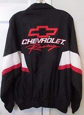 Chevrolet Racing Full Zip Lightweight Jacket Medium by Track Gear