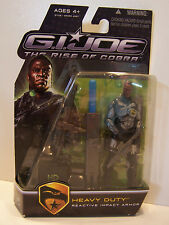 G.I. Joe Gijoe Rise Of Cobra Heavy Duty Reactive Impact Armor MOC 2008