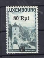 Luxembourg 31PF Variety R IN The Middle Open Mint(R9523