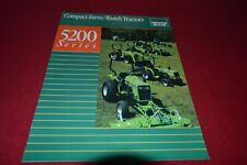 Deutz Allis Chalmers 5215 5220 5230 Tractor Dealer's Brochure YABE19