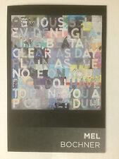 MEL BOCHNER, 'OBVIOUS' artist's promotional card.