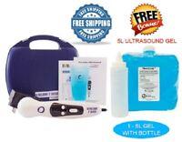 US Pro 2000 Professional Ultrasound Portable Therapy Unit + Free 5 Liter U/S Gel