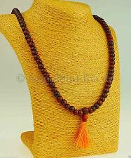 Runde Modeschmuck-Halsketten aus Holz